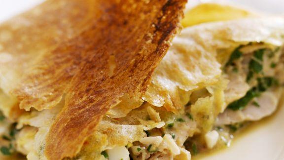 Rezept: Herzhafte Pastete auf tunesische Art
