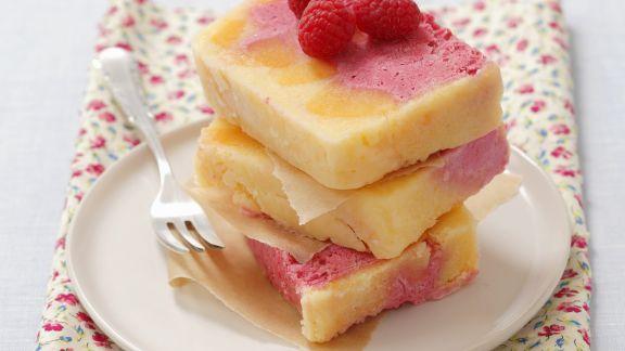Rezept: Himbeer-Pfirsich-Parfait