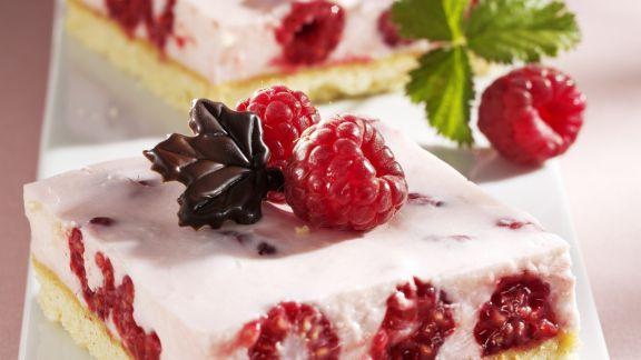 Rezept: Himbeer-Quark-Kuchen