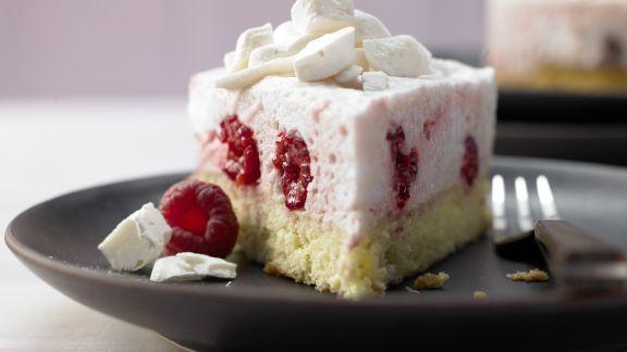 Rezept: Himbeer-Sahne-Torte