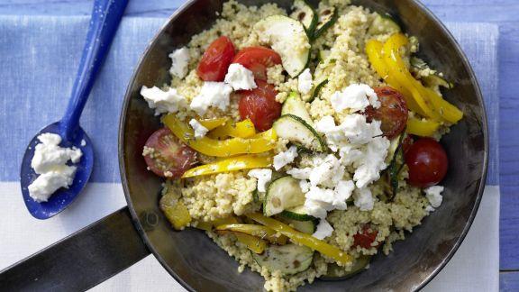 Rezept: Hirse-Gemüse-Pfanne