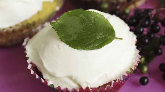 Rezept: Holunderbeeren-Cupcakes