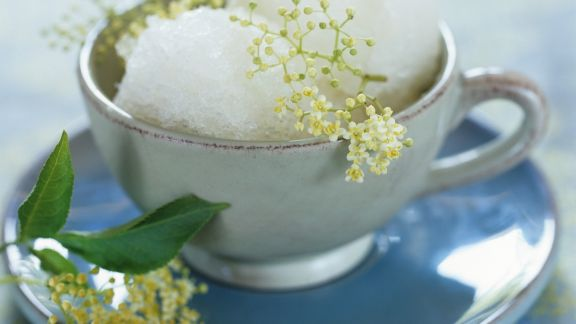 Rezept: Holunderblütensorbet