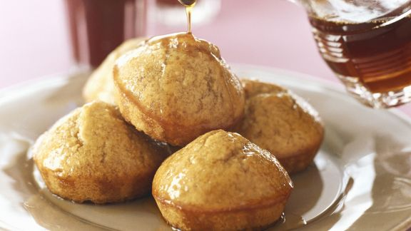 Rezept: Honig-Muffins mit Sirup