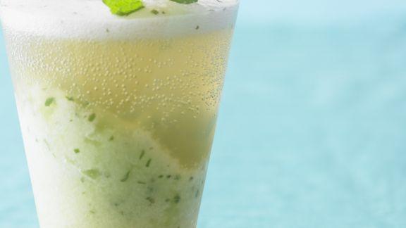 Rezept: Honigmelonen-Minz-Drink