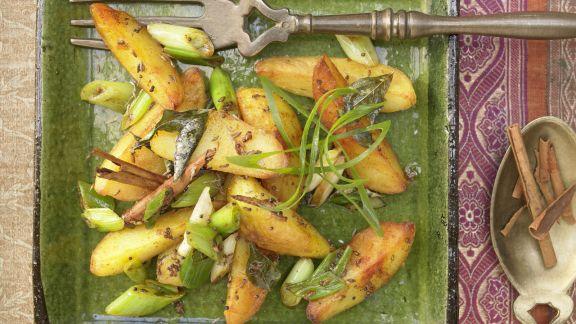 Rezept: Indische Kartoffeln