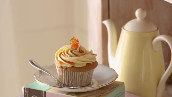 Rezept: Ingwer-Möhren-Cupcake