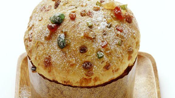 Rezept: Italienischer Weihnachtskuchen (Panettone)