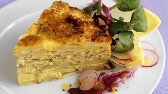 Rezept: Italienisches Kartoffelomelett