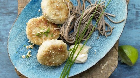 Rezept: Japanische Seelachsfrikadellen