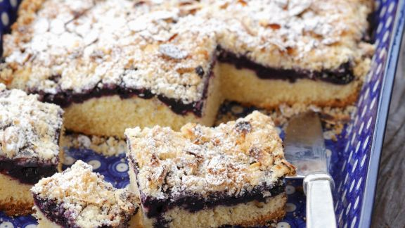 Rezept: Joghurt-Brombeer-Kuchen