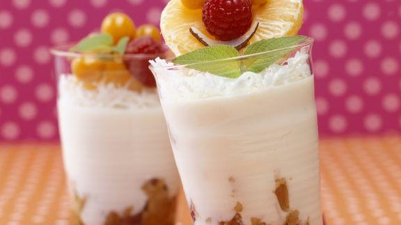 Rezept: Joghurt mit Mandarinen
