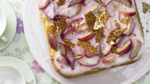 Rezept: Joghurt-Pflaumen-Torte