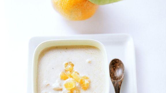 Rezept: Joghurtdressing mit Mandarine