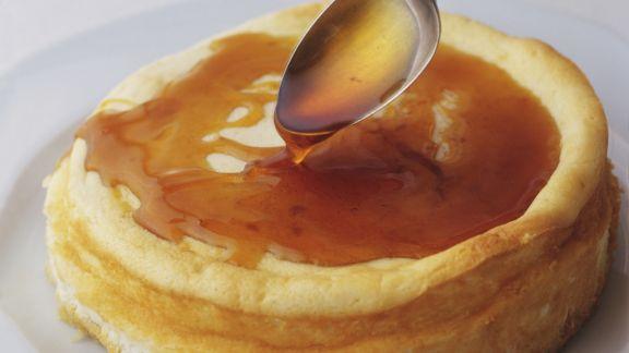 Rezept: Joghurtkuchen mit Honig