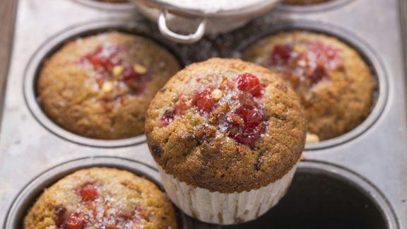 Rezept: Johannisbeer-Vanille-Muffins