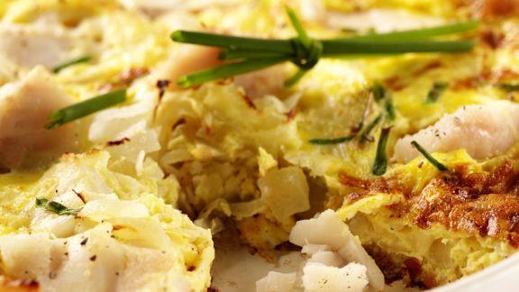 Rezept: Kabeljau-Omelett