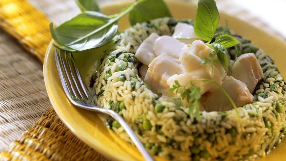 Rezept: Kabeljauragout mit Reis