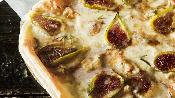 Rezept: Käse-Feigen-Tarte mit Rosmarin