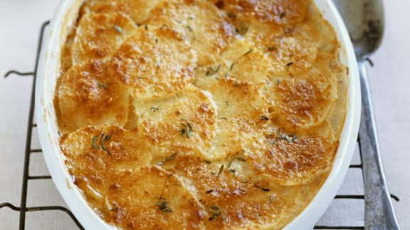 Rezept: Käse-Kartoffel-Auflauf