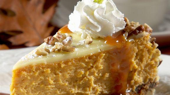 Rezept: Käse-Kürbis-Kuchen mit Nüssen