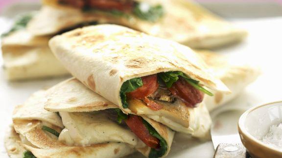 Rezept: Käse-Tortillas