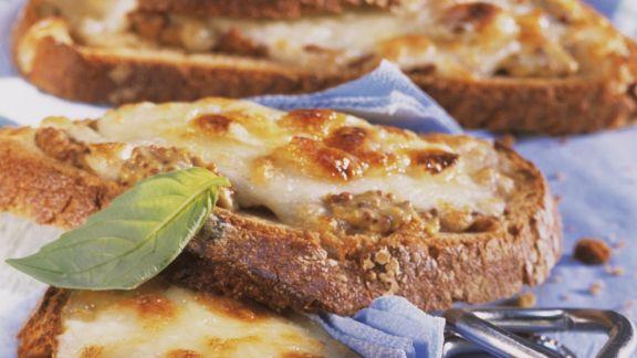 Rezept: Käsebrote vom Grill