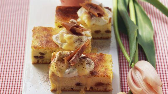 Rezept: Käsekuchen mit Eierlikör