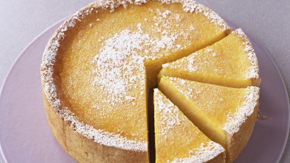 Rezept: Käsekuchen mit Limette und Orange