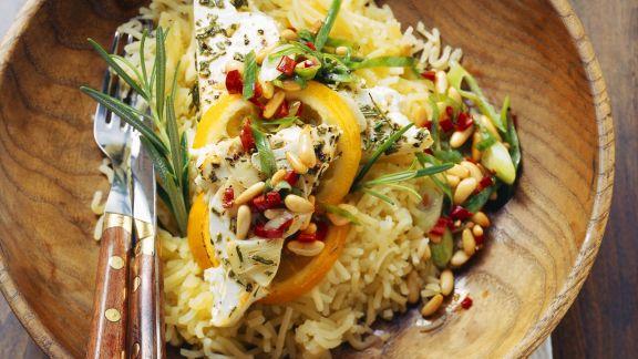 Rezept: Käsesalat mit Pinienkernen