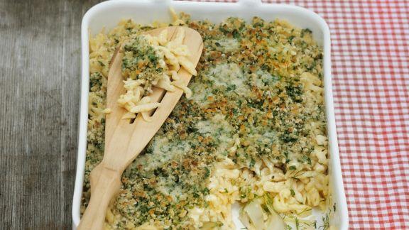 Rezept: Käsespätzle aus dem Allgäu
