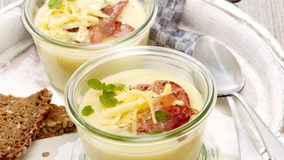 Rezept: Käsesuppe