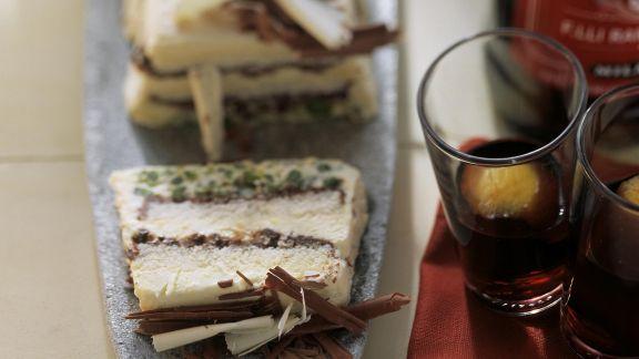 Rezept: Kaffee-Eistorte mit Schokolade