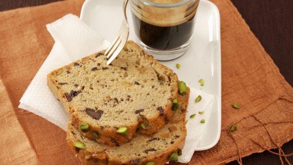 Rezept: Kaffeekuchen mit Pistazien