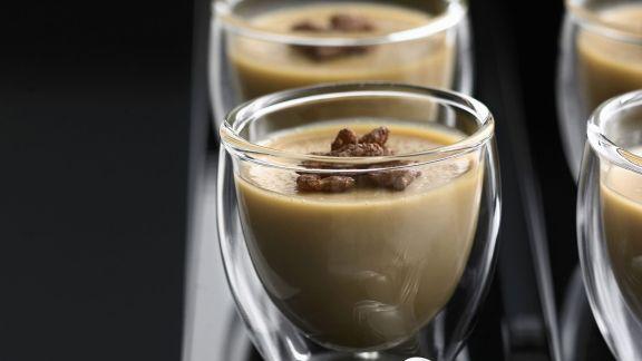 Rezept: Kaffeepudding (Kaffee-Panna-cotta)