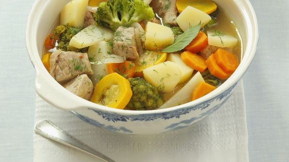 Rezept: Kalbs-Gemüse-Eintopf