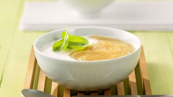 Rezept: Kalte Kokos-Melonensuppe