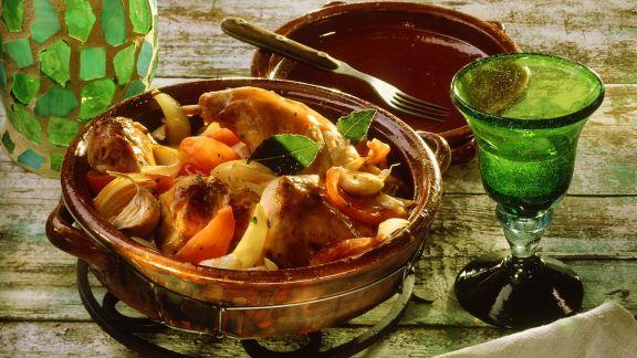 Rezept: Kaninchen-Gemüseragout