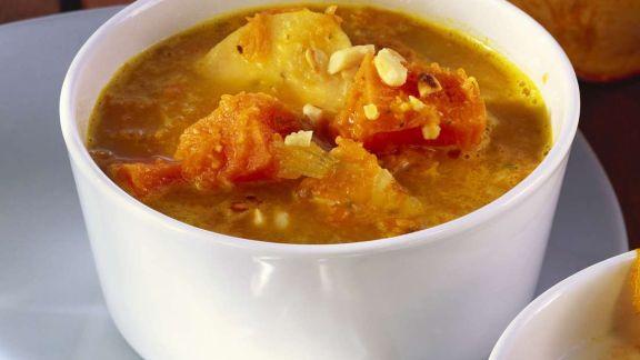 Rezept: Karibische Kürbissuppe
