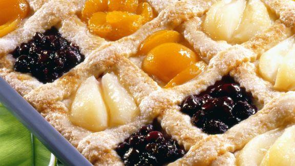 Rezept: Karo-Kuchen mit Obst