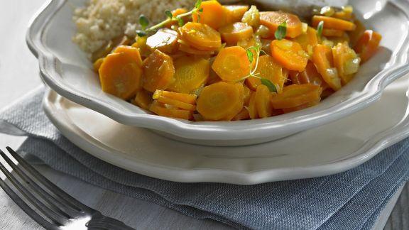 Rezept: Karotten-Curry