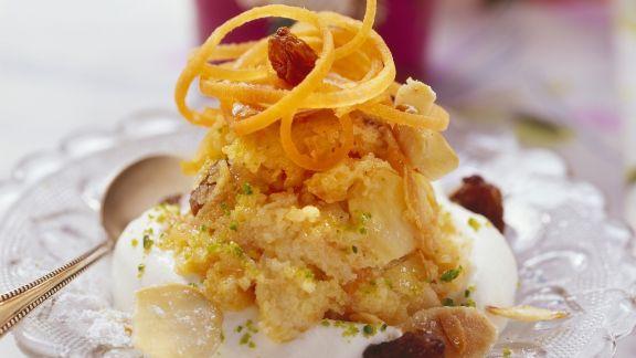 Rezept: Karotten-Mandel-Dessert nach indischer Art (Halva)