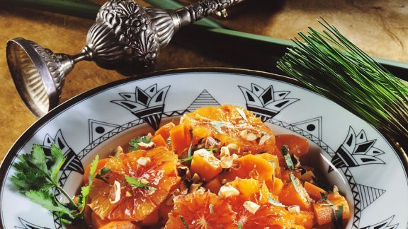 Rezept: Karottensalat mit Orangen