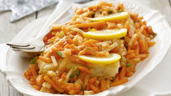 Rezept: Karpfen-Gemüse-Pfanne