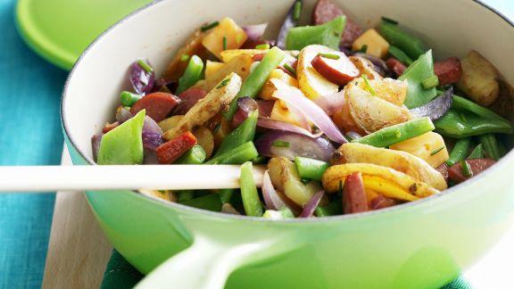 Rezept: Kartoffel-Bohnen-Eintopf