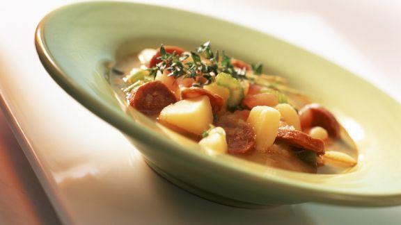 Rezept: Kartoffel-Chorizo-Eintopf