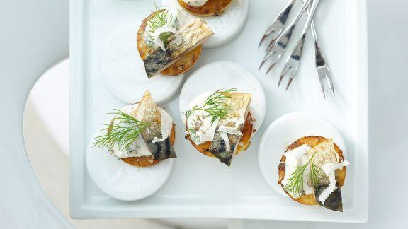Rezept: Kartoffel-Crostini