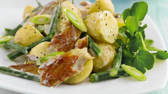 Rezept: Kartoffel-Makrelen-Salat