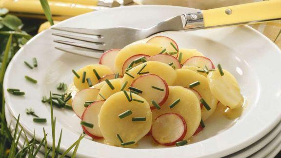 Rezept: Kartoffel-Radieschen Salat
