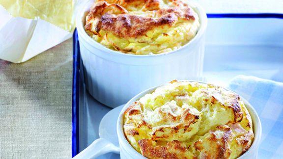Rezept: Kartoffel Soufflé mit Putenbrust